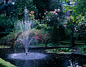 Amsterdam: PRIVATE Garden with FOUNTAIN, Pool AND ROSES
