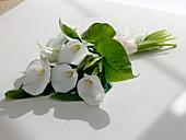 Hochzeits-Strauß aus Zantedeschia (Zimmer - Kalla)