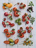 Tomaten -Tableau