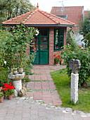 Künstlergarten : Gartenhaus
