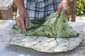 Trittsteine für den Garten selbermachen