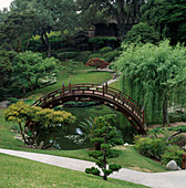 THE JAPANESE Garden at THE Huntington BOTANICAL GARDENS, LOS ANGELES, CALIFORNIA.