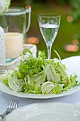Frisee and fennel salad