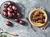 'Rosie' potatoes