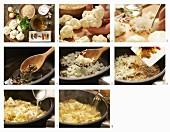Cauliflower and rice pilaf