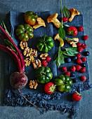 Lebensmittel für die Low Carb Küche