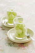 Chilled Ginger and Lime Honeydew