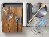 Kitchen appliances for making tangy profiteroles