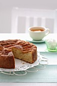Apple Cinnamon Tea Cake