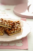 Nutty Caramel Slice
