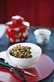 Spicy Dry-Fried Snake Beans and Pork