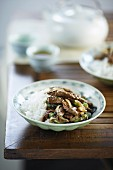 Stir-fried Beef with Capsicum and Black Bean Sauce