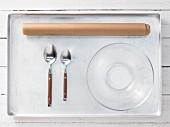 Kitchen utensils for preparing spices