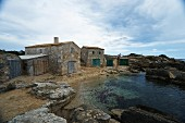 Former fishing village Colonia de Sant Jordi in Mallorca, Spain