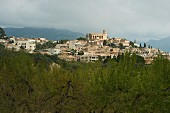 View of Selva in Mallorca, Spain
