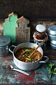 Lamb vindaloo with chilli (India)