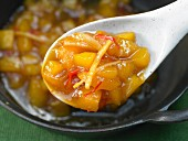Mango chutney with ginger and lime
