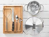 Kitchen utensils for making puree