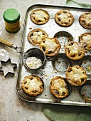 Mince Pies in der Backform