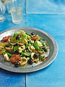 Olive Feta Tomato Pasta