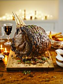 Rib of beef for Christmas
