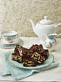 Rich Tea Chocolate Fridge Cake