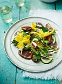 Seared Tuna Summer Garden Salad