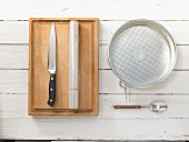 Kitchen utensils for making sushi