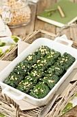 Tuscan kale rolls