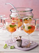 Melon Ball punch (non-alcoholic)