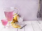 'Purple Lady' lemonade