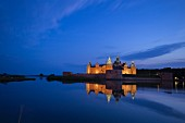 Kalmar Castle by night, southern Sweden