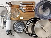 Küchengeräte für die Fisch- und Gemüsezubereitung