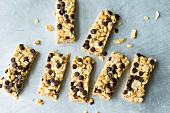 Quick and easy chocolate crunch bars