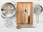 Kitchen utensils for making pot au feu