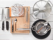 Kitchen utensils for making boiled veal