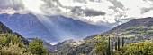 View of Vesio, Lake Garda, Italy