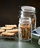 Lactose-free muesli bars