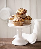 Lactose-free muffins with chocolate chips
