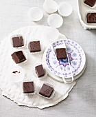 Lactose-free chocolates