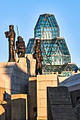 Peacekeeping Monument in Ottawa, Canada