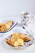 Croissants zum Kaffee