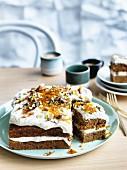 Masala carrot cake