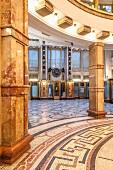 Kubistischer Palais Adria, Prag, Tschechien