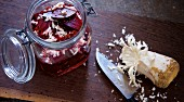 Fermented beetroot with horseradish