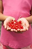 Girl Holding Berries