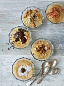 Five couscous variations for breakfast