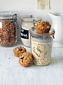 Vegan nut mix for quick and easy muffins