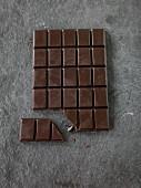 Homemade dark chocolate (vegan)