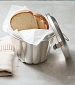 Homemade melba toast (lactose-free)